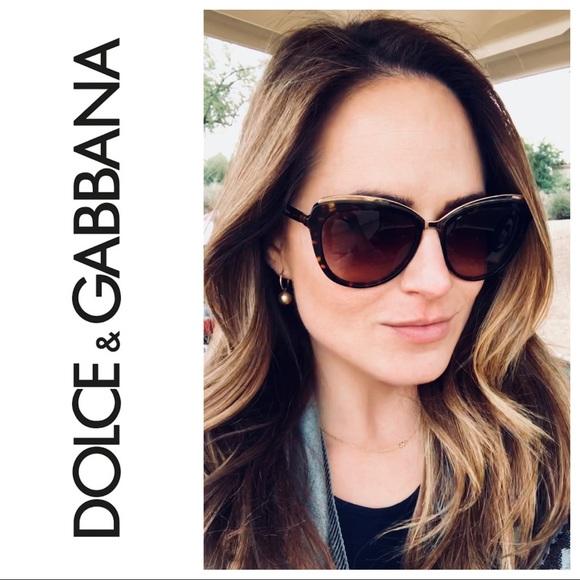 cd092d90b Dolce & Gabbana Accessories | Dolce Gabbana Cat Eye Sunglasses ...